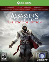 ASSASSINS CREED THE EZIO COLLECTION  - Xbox One - (Brand New) - $43.08