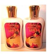 2 Bath & Body Works 8 oz Body Lotion  Honey Autumn Apple - $39.99