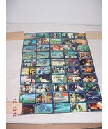 Star Wars New Zealand Confection Concepts RARE Uncut Trading Card Sheet #1 - $140.29