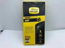 OtterBox Clearly Protected 360 Degree Screen Protector for Google Nexus 5 clear - $8.77