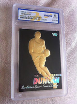 Tim Duncan 1997-98 Fleer 23KT Oro Nero Wcg per Gemmt 10 Rookie Card! 5X NBA - $19.59