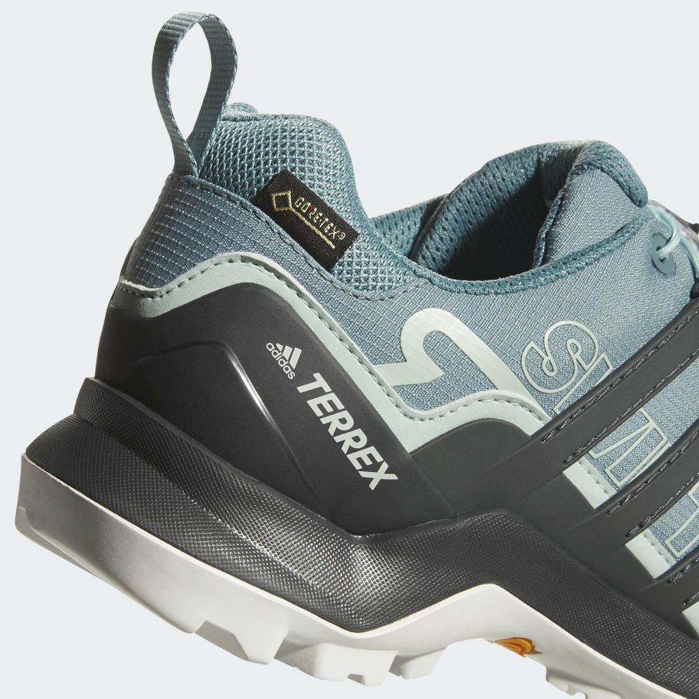 503e452d526f8 Women s Adidas Terrex Swift R2 GTX Hiking Shoe NEW Green Black MSRP  135