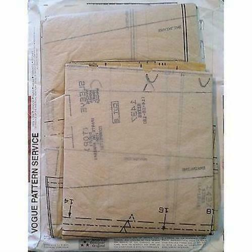 Jacket Vest Top Skirt Pants Vogue 1437 Pattern Tamotsu Size 14-18 Career c1268