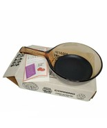 Vintage Corning Ware Vision Amber 0.5L Nonstick Frying Pan New In Box USA - $54.99