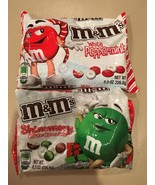 Two Bags M&Ms White Peppermint & Shimery White ... - $9.99