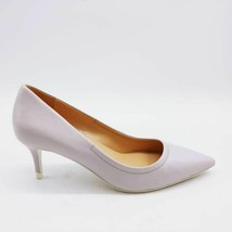 Franco Sarto Womens Trolley Classic Pump Heels Lilac Leather Slip On 6.5M NEW - $39.59