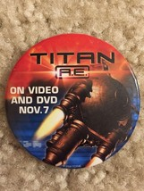 Titan A.E.Video DVD Promo Movie Pin Button Pinback 2000 RARE - $6.99