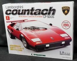 In Stock DeAGOSTINI Lamborghini Countach LP500S 1/8 No.1-No.80 Full kit ... - $2,316.60