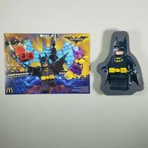 LEGO Batman Movie #4 Batman & Batgirl Tin Puzzle Happy Meal Toy McDonalds  - $6.99