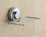 Suction Cup Soap Holder Bracket for Kitchen Bathroom