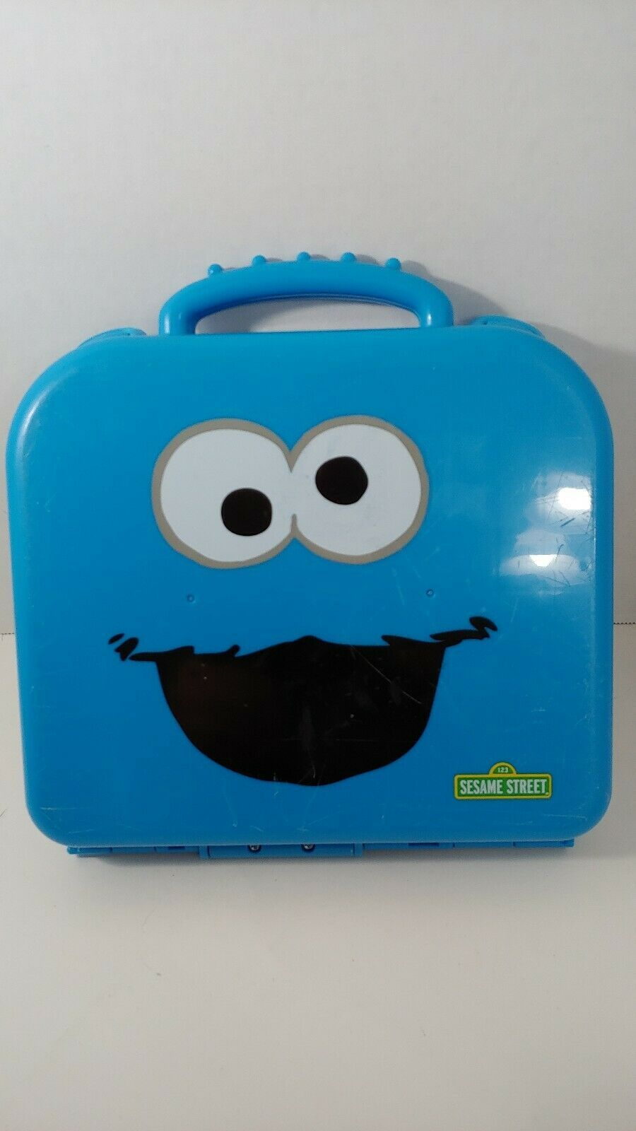 Primary image for Sesame Street Cookie Monster On the Go Numbers  set complete WELL USED CASE