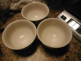 Homer Laughlin set lot 3  Side custard dessert  Bowl Restaurant Ware HLC... - $6.00