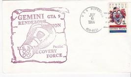 GTA 9 GEMINI NAVY RECOVERY FORCE PACIFIC USS RUPERTUS JUN 6 1966  - $2.98