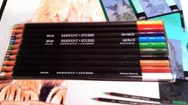 Derwent STUDIO Pencils Inspiration Set Lion Birds Collectible Art Project Kit image 3