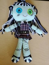 "MONSTER HIGH FRANKIE STEIN Cloth Rag Plush Stuffed Doll 18""  - $18.50"