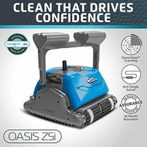 DOLPHIN Oasis Z5i Robotic Pool Cleaner with Bluetooth Control for Stress Free Po