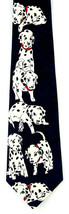 Happy Puppy Men's Necktie Dalmatian Dog Fratello Pet Animal Blue Neck Tie  - $14.85