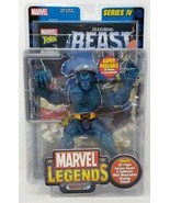 Marvel Legends Series IV Beast Figure X-Men Comic Book #3 Toy Biz NIB 2003 - $64.88