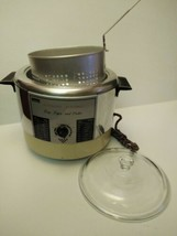 Vintage Sears Automatic Electric Cooker Deep Fryer  MODEL 30969320 1150 ... - $8.71