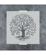 Tree of Life Stencil - Reusable Stencil of Tree of Life in Small & Large... - $5.99+