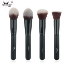 Anmor® 4 pcs/set Face Brushes Professional for Powder Foundation Blush C... - $19.31