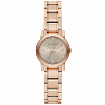 Burberry BU9228 Heritage Rose Gold Swiss Made Womens Watch - $449.10