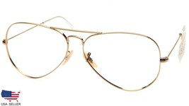 Ray Ban Rb 3025 001-14 Gold Metal Sunglasses 58-14-130 2N (Lenses Missing) Italy - $36.62