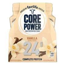 Core Power High Protein Milk Shake Vanilla 8 oz Bottles (Pack Of 4) - $21.73