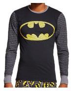 BATMAN Cool Johns Long Underwear M 32 34 Medium NEW Lounge Sleep Shirt - $18.00
