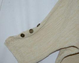 Simply Noelle Brand JCKT222Z Womens Pearl Zippered Sweater Jacket Size XXL image 3