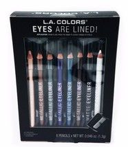 L.A.Colors Eyes Are Lined 8pcs Set - $13.99