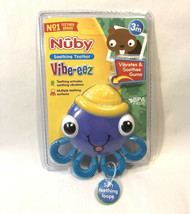 Brand New NUBY Vibe-Eez OCTOPUS SOOTHING TEETHER 3M+ - $13.50