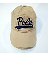 Polo Ralph Lauren Spell Out Logo Strapback One Size Adjustable Hat Cap B... - $22.16