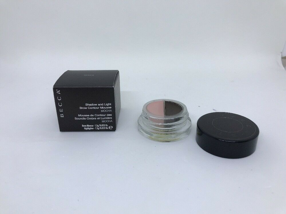 Primary image for BECCA Shadow and Light Brow Contour Mousse in shade MOCHA 1.5g NEW