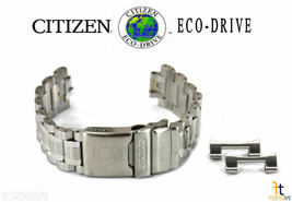 Citizen Eco-Drive CC9030-51E Original Stainless Steel Watch Band Strap S... - $161.46