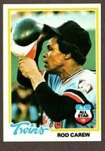 1978 TOPPS BASEBALL #580 ROD CAREW CARD- MINNESOTA TWINS - $3.91