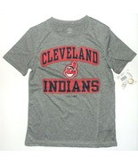 MLB Genuine Merchandise Boys Cleveland Indians T-Shirt Size Small 8 NWT - $13.57