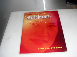 qualities  of  effective  teachers  - $1.25