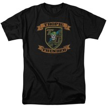 Tropic Thunder t-shirt action comedy war movie 100% cotton graphic tee PAR219 image 1