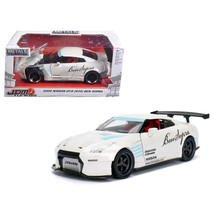 2009 Nissan GT-R (R35) Ben Sopra White JDM Tuners 1/24 Diecast Model Car  by Jad - $33.92