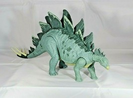 2017 Jurassic World Action Attack Stegosaurus Action Figure. Free shipping! - $23.28