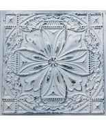 Faux Tin Ceiling Tile TD10 Old Black White Pack of 10 2'X2' Tiles (~ 40 ... - $288.99