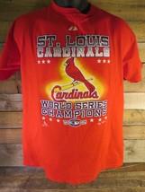 St Louis CARDINALS World Series Champions 2006 Men's Shirt Size M - $8.90