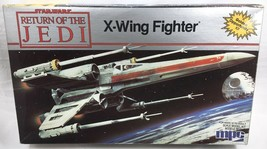 """1983 STAR WARS MPC Vintage X-WING FIGHTER Scale Model Kit w/ BOX 1-1930 12"""" - $24.98"""