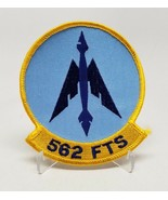 USAF 562 FTS Flying Training Squadron Patch Blue & Yellow - $14.73