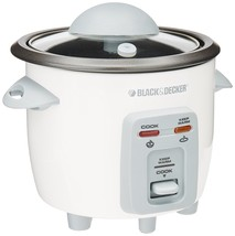 Black & Decker RC3203 3-Cup Rice Cooker, White - $31.18