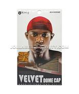 King J Premium Velvet Dome Cap Men's Doo Rag Bandana Hats #2014 Assort R... - $11.88