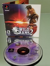 Wild Arms 2 Demo for Playstation PS1 Fast Shipping! - $8.90