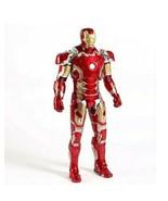 The Iron Man Mark 43 PVC Action Figure Movie Collection Model Garage Kit... - $74.25