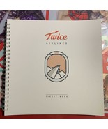AIRLINE TWICE Ticket Book Books, Music and Games CD K-POP/Asia Japan F/S... - $40.64